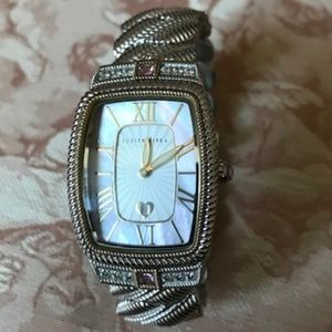 Judith Ripka Watch - Sterling Collection